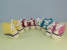 Bottes Basket instructions-baby imprimé & baskets chaussons tricot motif