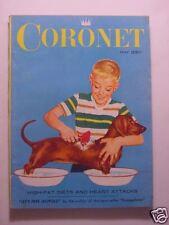 CORONET May 1957 HARRY BELAFONTE River SEINE PARIS Minor League Baseball +++