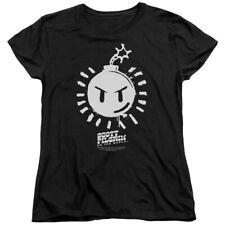 Scott Pilgrim Vs The World Comedy Movie Sex Bob Omb Logo Women's T-Shirt Tee