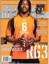 Sports Illustrated 2012 Washington Redskins QB Robert Griffin III RG3 Newstand