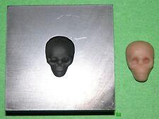 Skull Push Mold Style B 1/2x3/4 Graphite Glass Lampwork