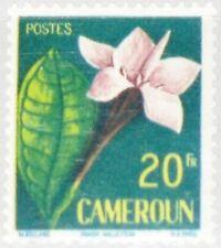 Cameroun camerún 1959 319 333 Flower flor flora Randia malleifera plants mnh