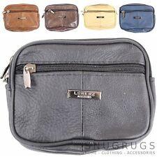 Para Hombre / señoras Cinturón De Cuero Bolsa / Bolso (negro, marrón oscuro, marrón, beige, azul)