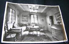 Vintag B & W Photo Postcard CHALET MONDIAL DES ECLAIREU