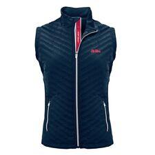 Ole Miss Rebels Women's Levelwear Transition Full Zip Vest NEW $80 SRP
