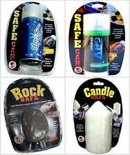 Safe Stash Secret Storage Lighter Book Candle De-icer Rock Screwdriver Clock