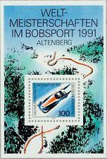 BRD 1991: Bob-WM-Block Nr. 23, postfrisch! 1A erhalten!
