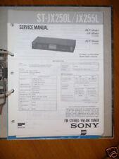 Service-Manual Sony ST-JX250L/JX255L Tuner,ORIGINAL
