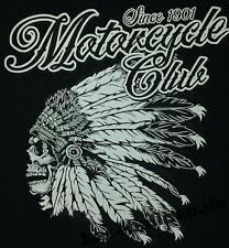 T-Shirt #703 Motocycle Club Biker Pin Up V8 Hot Rod Old School Musclecar US Car