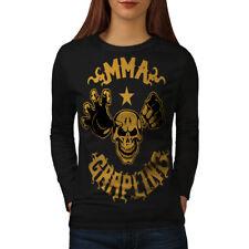 MMA Sport Women Long Sleeve T-shirt NEW | Wellcoda