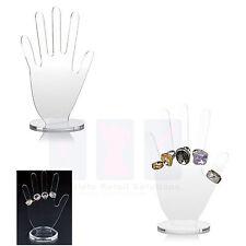 New Clear Acrylic Hand-Shaped Ring Display Gloves Retail Shopfitting Display