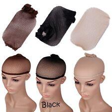 1pcs Unisex wigs cap stretchable elastic hair nets snood cool mesh cosplay Dress