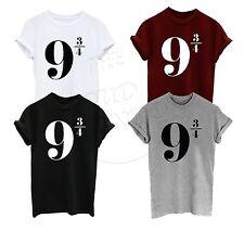 9 3/4 trimestri piattaforma NOVE tre quarti Harry Potter Unisex T-Shirt Top
