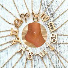 Boho 12 Zodiac Constellation Anklets Women Leg Chain Gold Summer Foot Jewelry