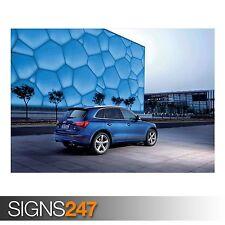 AUDI Q5 3.0 TDI QUATTRO CAR 7 (AC820) CAR POSTER - Poster Print Art A0 A1 A2 A3