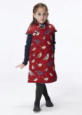 100% Fait Main Robe d'Hiver Fille Qipao Cheongsam en Coton Mode Enfant #201