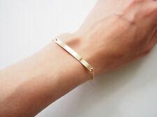 Friendship 14k Gold Filled  Bar Chain Bracelet