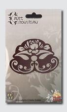 Embossingschablone Prägeschablone Schneideschablone Art Nouveau Blume (2153)