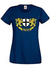 T-shirt Maglietta donna J1795 Stemma Ultras Parma Support Local Team
