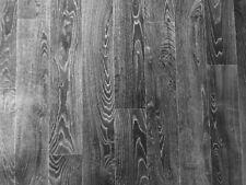 PVC (9€/m²) CV Bodenbelag Holz Optik Maxi Planken Anthrazit Silber 200 cm breit
