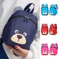 Kids Cute Bear School Backpack Cartoon Bag Children Baby Shoulder Bag Anti Lost