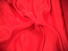 Red Duquesa Raso Nupcial Boda Vestido de Tela de 150 cm de ancho Gratis P + P