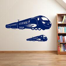 High Speed Train TGV Fast Railway Vinyl Matt Wall Window Stickers Decal Kids A20