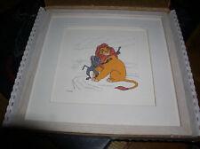 Disney Lion King Mufasa  Rafiki Monkey LE Framed Art