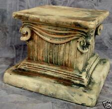 Column Pedestal Draped Ionic Riser Statue Home
