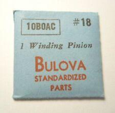 Genuine BULOVA Watch Movement 10BOAC Factory Replacement Part #18 WINDING PINION