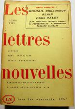 ALAIN/CAMUS.../NADEAU/LETTRES NOUVELLES/1959/N°14