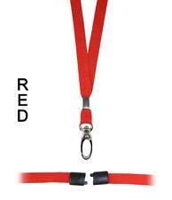 Rojo Diamètre Interne Lanyard Cuello Soporte Correa Cuerda Seguridad Personal