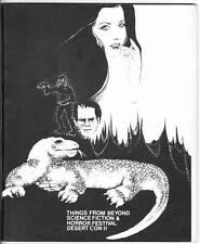 1974 sci-fi fanzine DESERT CON 2: THINGS FROM BEYOND