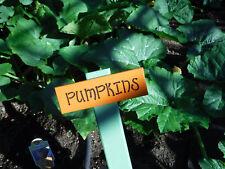 Wood Garden Sign Plant Labels
