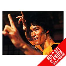 Cartel de Bruce Lee introduzca el dragón de impresión A4 A3 Tamaño-Compre 2 lleve 2 Gratis Cualquier