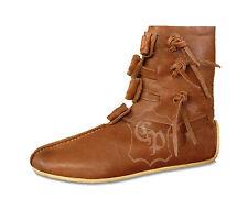 """Scarpe vichinghi Medioevo Scarpe Stivali metà Medioevo Scarpe Morbide """"Skjöld"""""""