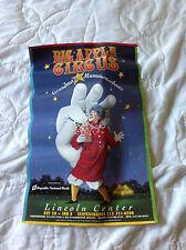 1994 Big Apple Circus Poster - Grandma Meets Mummenschanz