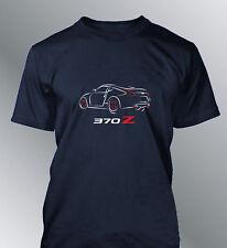 Tee shirt personnalise 370Z S M L XL XXL homme 370 Z line