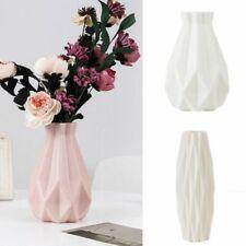 Modern Nordic Flower Vase Table Decoration Home Plastic Basket White Rose In Pot