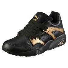 PUMA BLAZE GOLD Noir Sneakers Black Baskets Trinomic Femme 362022-01