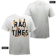 FAMOUS STARS & STRAPS Video Vixens Rad Times White T-Shirt S-XXL NEW