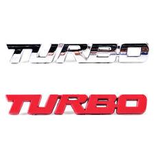 Metall Turbo Power Emblem Badge Auto Aufkleber 3D Schriftzug car Sticker Chrom