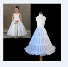 6 Style White A Line/Hoopless/Flower Girl wedding Crinoline Petticoat/Underskirt