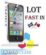 2X 3X 4X 5X HD clear screen protector iphone 4 4S 4G protecteur ecran clair LCD