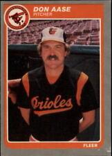 1985 Fleer Update Baseball - Choose Your Cards