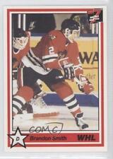1990-91 7th Inning Sketch WHL #314 Brandon Smith Portland Winterhawks (WHL) Card