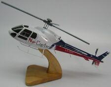 AS-355 Ecureuil 2 Helicopter Desk Wood Model Large