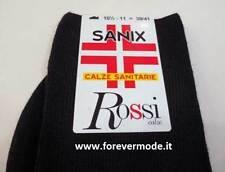 6 Pares di Medias de hombre Rossi Gruma largo Salud en cálido mezcla de lana art