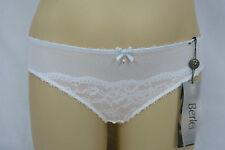 Berlei Ladies Mayfair Lace Bikini Briefs Underwear size 18 Colour White Blue