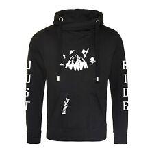 Snowboard cross neck, modern hoodie warm ski hoodie chunky just ride winter snow